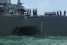 TNI Bantu Cari 10 Pelaut AS Korban Tabrakan Kapal di Singapura