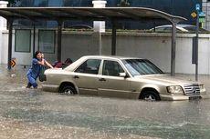 Guyuran Hujan Deras Bikin Singapura Terendam Banjir