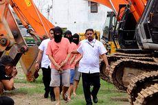 Kuras Pasir dari Sungai Hutan Lindung, 5 Pelaksana Proyek APBN Ditangkap Polisi