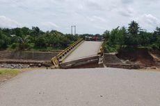 Jalan dan Jembatan Rusak Akibat Banjir Sulsel Segera Diperbaiki