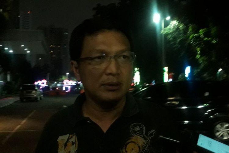 Direktur Reserse Kriminal Umum Polda Metro Jaya Kombes Nico Afinta di Mapolda Metro Jaya, Kamis (5/4/2018).