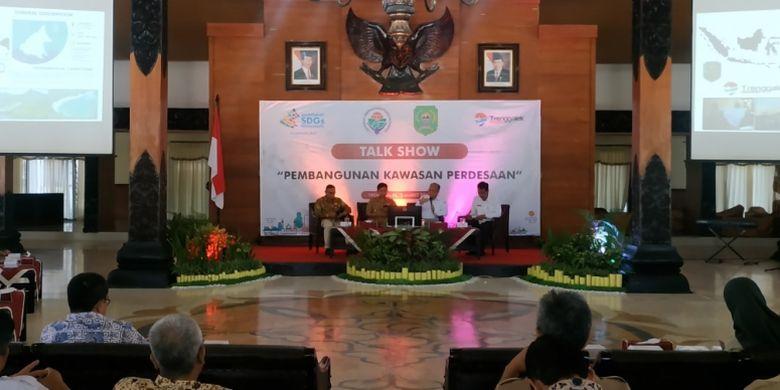 Komitmen Kemendes PDTT Bangun Kawasan Pedesaan di Trenggalek