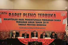 Prabowo-Sandi Menang Tipis dari Jokowi-Ma'ruf di Bengkulu