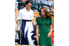 Perbandingan Gaya Meghan dan Kate Saat Hadir di Kejuaraan Wimbledon
