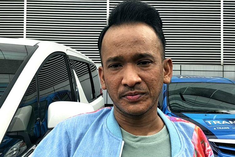 Ruben Onsu diwawancara di kawasan Tendean, Jakarta Selatan, Kamis (17/5/2018).