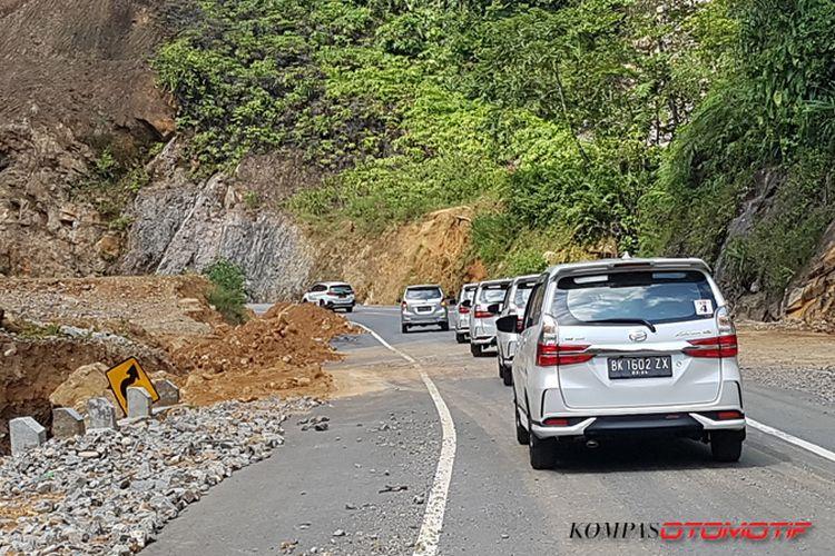Test drive Xenia 1.5L di Sibolga, Sumatera Utara