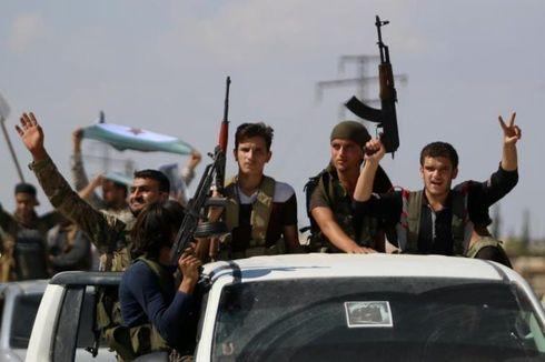 Pemberontak Suriah Mulai Tarik Senjata Berat dari Zona Demiliterisasi