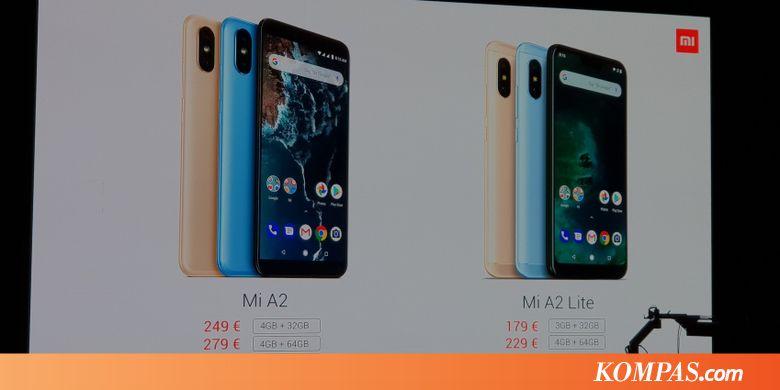 Xiaomi Resmikan Mi A2 dan Mi A2 Lite 8bbf600310