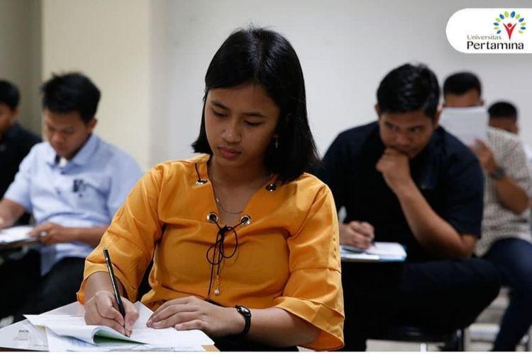 Ilustrasi Beasiswa S1 Aperti BUMN. Pelaksanaan Ujian Masuk Universitas Pertamina (5/5/2019).