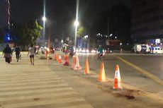 Jalan MH Thamrin Dibuka, Warga Tak Lagi Bebas Foto-foto hingga Tetap Dijaga Aparat