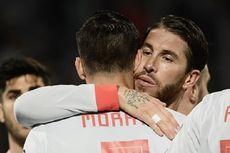 Spanyol Vs Swedia, Ini Alasan Ramos Beri Penalti ke Morata