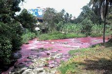 Air Sungai Bah Bolon Tiba-tiba Berubah Jadi Merah, Apa Sebabnya?