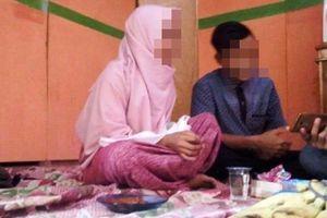 Pelajar SMP dan Kekasihnya di Bantaeng Akhirnya Menikah