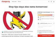 Petisi Online Digagas untuk Hentikan Pembangunan di Pulau Komodo