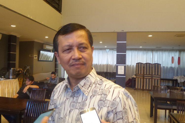 Mantan Wakapolri Komjen Pol (purn) Oegroseno dalam sebuah acara diskusi di bilangan Menteng, Jakarta Pusat  Sabtu (15/7/2017).