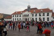 Ribuan Pengunjung Padati Kota Tua Jakarta