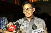 Sandiaga Tegaskan Taufik Bukan Penentu Pencopotan Wali Kota