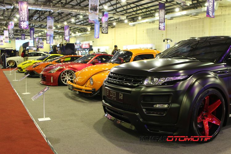 Indonesia Modification Expo (IMX) 2018 resmi dibuka resmi digelar.