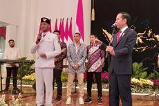 Grogi Kibarkan Bendera, Rangga Justru Dapat Sepeda dari Jokowi