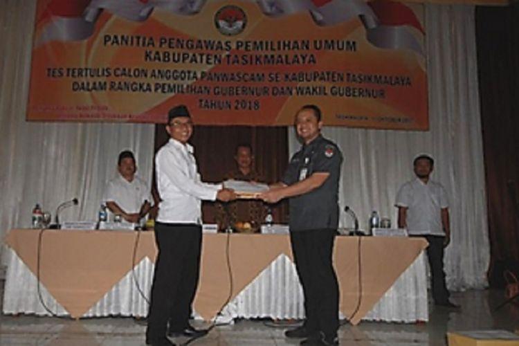 Seleksi Panwascam Kabupaten Tasikmalaya