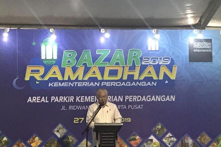 Menteri Perdagangan Enggartiasto Lukita di Jakarta, Senin (27/5/2019).