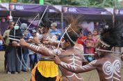 Tari Berburu dan Perang Buka Festival Crossborder Sota 2019 di Papua