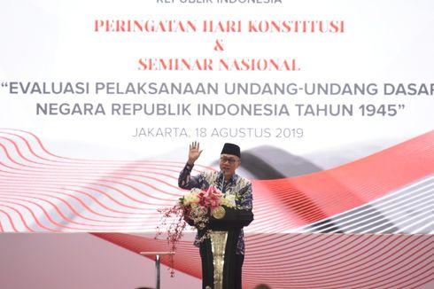Lewat Pantun, Ketua MPR Ajak Rajut Persatuan Usai Pemilu 2019