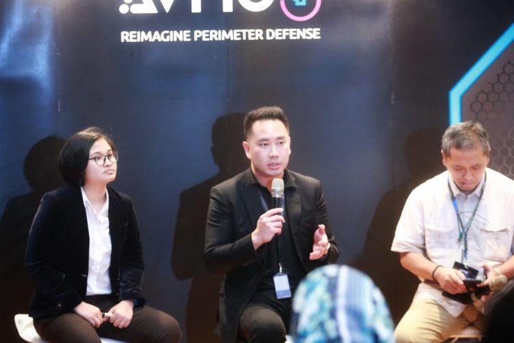 Konferensi pers Avnos di Jakarta, Kamis (25/4/2019).