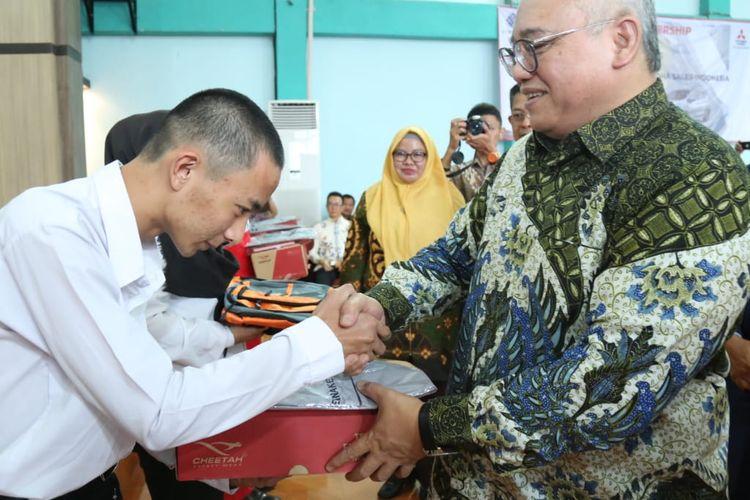 Tingkatkan Kemampuan SDM di Bidang Otomotif, BBPLK Bandung Gandeng Mitsubishi Adakan Pelatihan