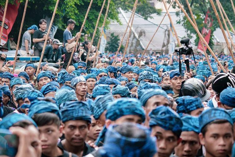 Exciting Banten on Seba Baduy 2019, Sabtu (4/5/2019).