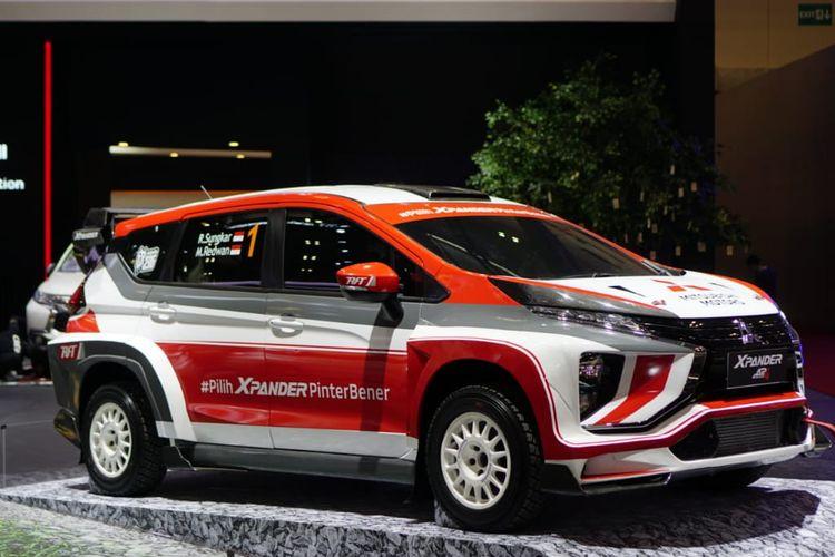 Xpander AP4 ditargetkan ikut kejuaraan reli nasional dan internasional