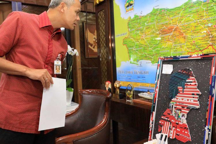 Ganjar Umumkan Juara Sayembara Daur Ulang Alat Peraga Kampanye
