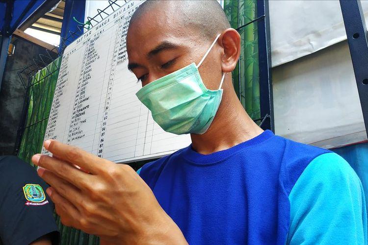 IS (32) alias Wawan Game, orang dengan gangguan jiwa yang dirawat di Yayasan Jamrud Biru, Mustika Jaya, Bekasi.