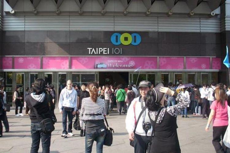 Taipei 101 di Taipei, Taiwan.
