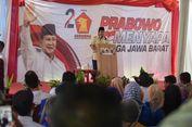 Kampanye di Garut, Prabowo Sebut Banyak Orang Jadi Pengangguran