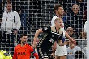 Tottenham Vs Ajax, Tim Tamu Raih Kemenangan Tipis