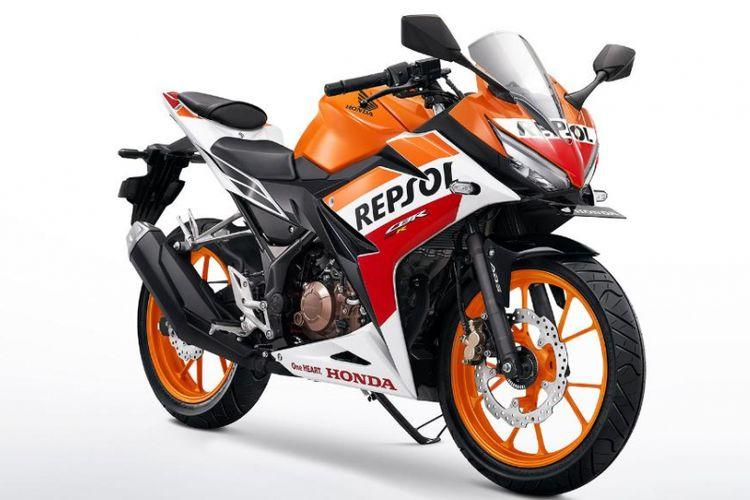 New Honda CBR150R dengan strip Repsol