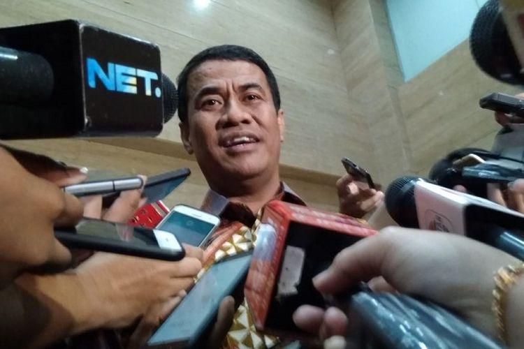 Mentan Amran Sulaiman, di Gedung BPK, Jakarta, Senin (21/5/2018).