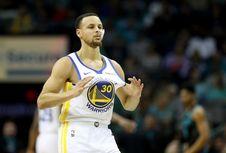 Hasil NBA, Warriors Kian Kokoh di Puncak Klasemen Wilayah Barat