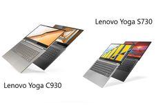Duo Laptop Premium Lenovo Yoga S730 dan C930 Resmi Masuk Indonesia