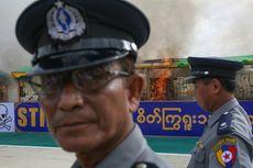 Sita 30 Juta Pil Ekstasi, Polisi Myanmar Cetak Rekor