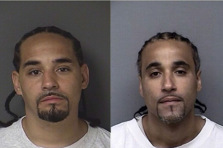 Ricky Amos (kiri) dan Richard Jones (kanan). (Kansas Department of Corrections via NBC)