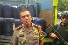 Ratusan Jerigen Miras Jenis Tuak Gagal Beredar di Kota Bandung.