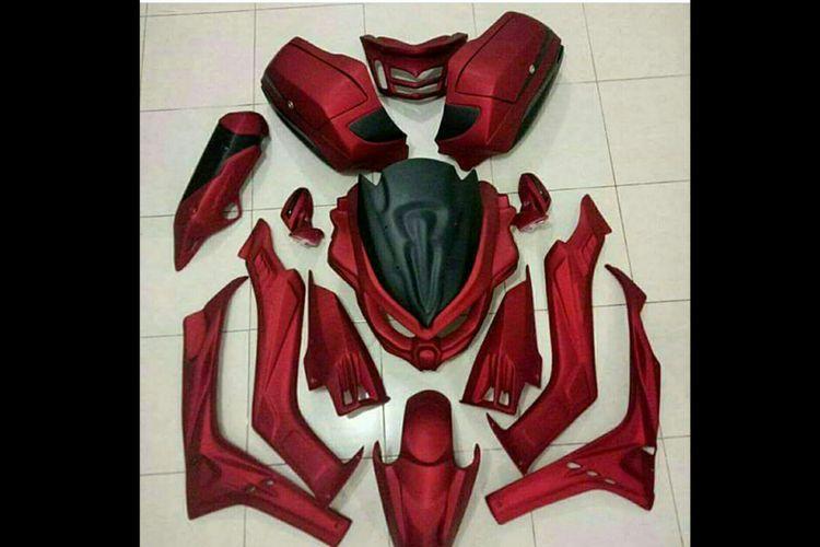 Aksesori body protector Yamaha Nmax