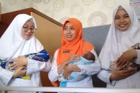 Bayi Kembar 3 Lahir di Cilacap dengan Persalinan Normal