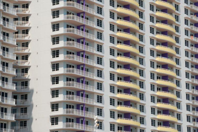 Ilustrasi apartemen.