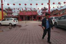 Jelang Imlek, Kelenteng di Palembang Dipasang 1.800 Lampion