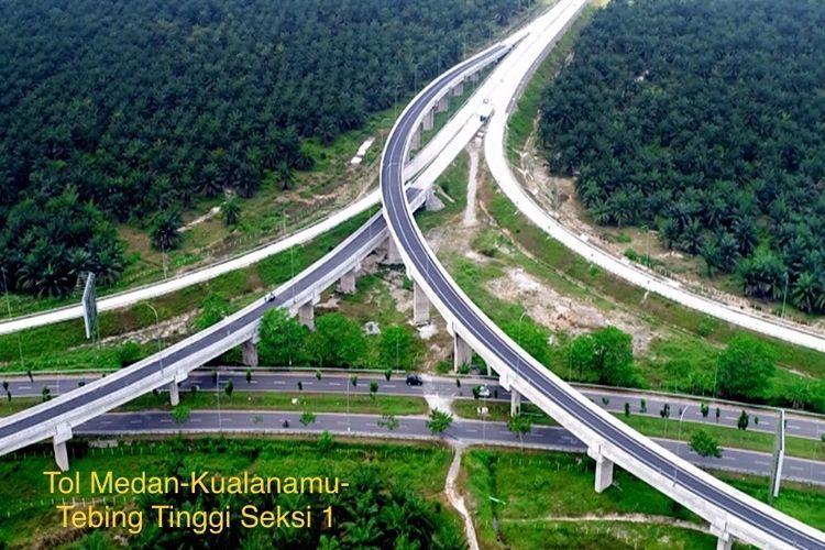 Jalan Tol Medan-Kualanamu-Tebing Tinggi (MKTT) Seksi I Simpang Susun (SS) Tanjung Morawa-SS Parbarakan dibuka sebagai jalur fungsional mulai 11 Juni 2018.