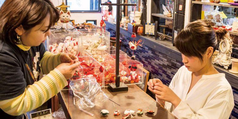 Toko Chikyu-ya, toko pernak-pernik di Jepang.