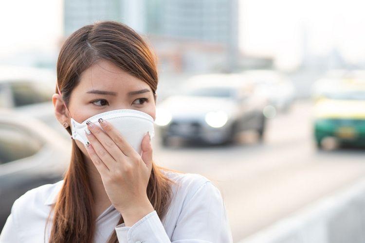Ilustrasi gas beracun dan polusi udara.